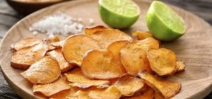Sweet Potato & Lime Chips